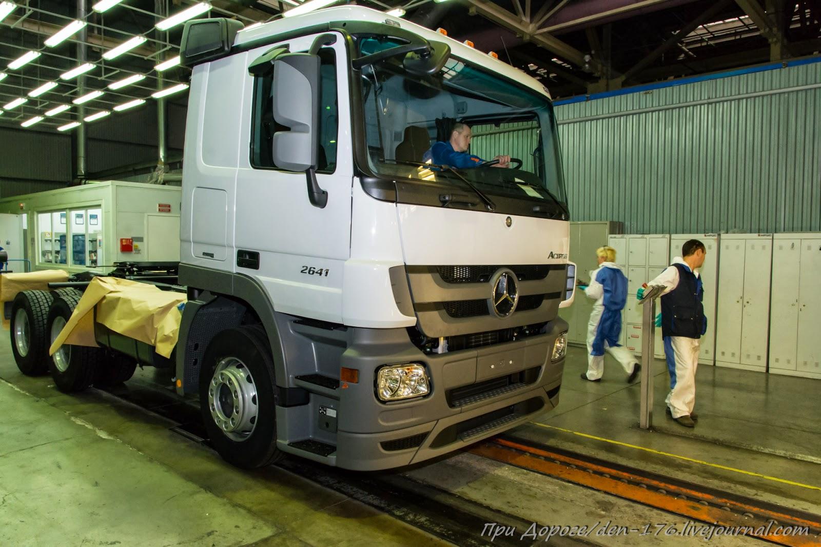 How to make MBTV 23 Mercedes Benz trucks in Naberezhnye Chelny