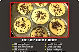 Resep Kue Cubit dan Pembuatanya