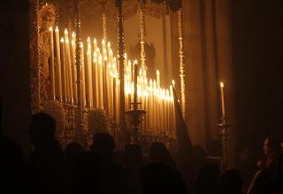 Traslado de Nuestra Señora Reina de los Mártires a la Colegiata de San Hipólito hoy en Córdoba