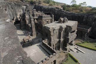 Elloran Kailasa-temppeli