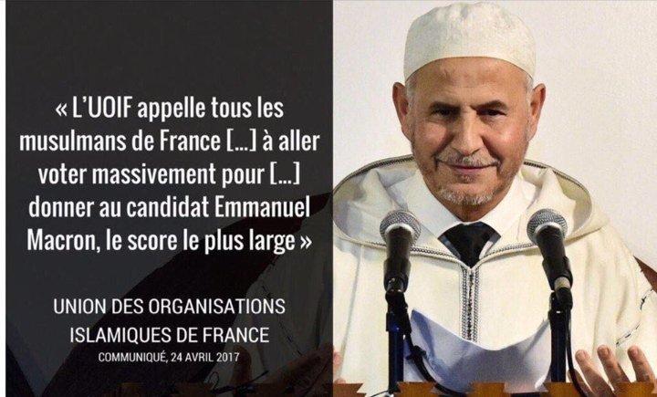 Macron : barbus radicalisés et patriotes RN, même péril !