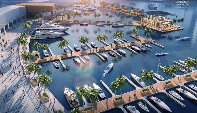 Căn hộ dự án LaLuna Resort Nha Trang nằm cạnh bến du thuyền quốc tế hiện đại tại Việt Nam