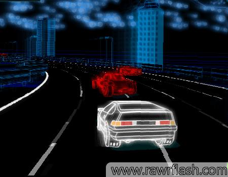 Jogo de corrida estilo arcade ou snes: Neon Race 2
