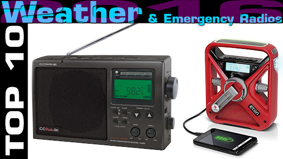 Top 10 Review Products-Top 10 Weather Emergency Radios 2016