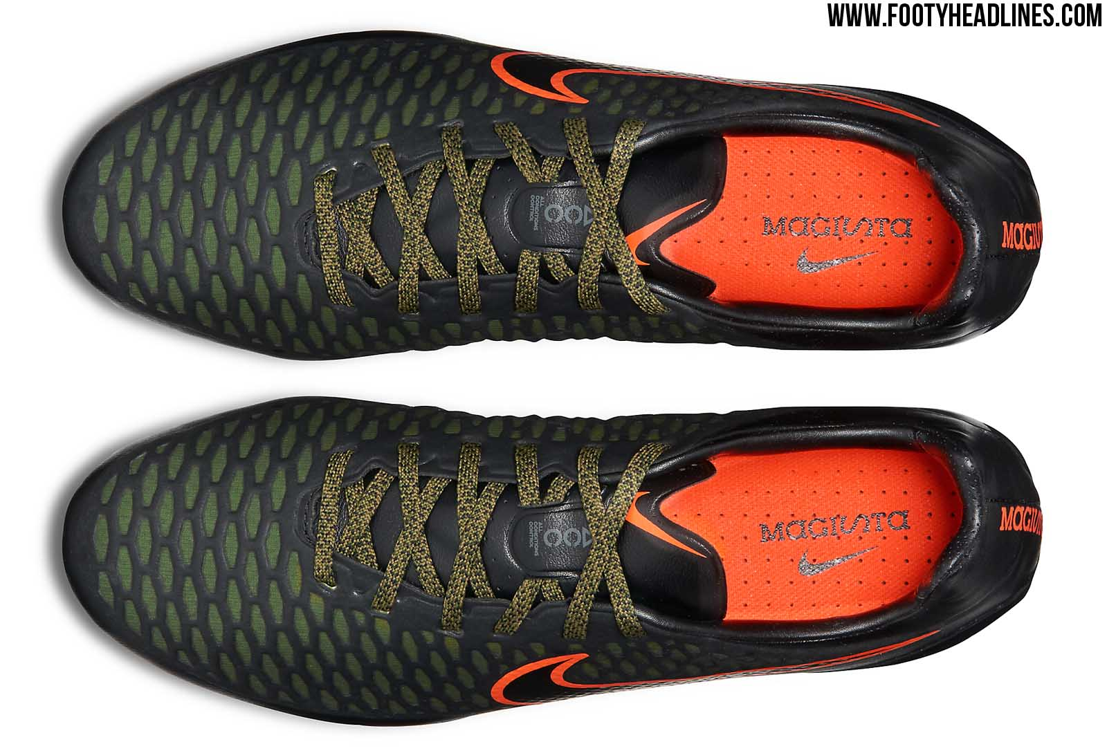 Black Orange Nike Magista Opus Summer 2015 Boots