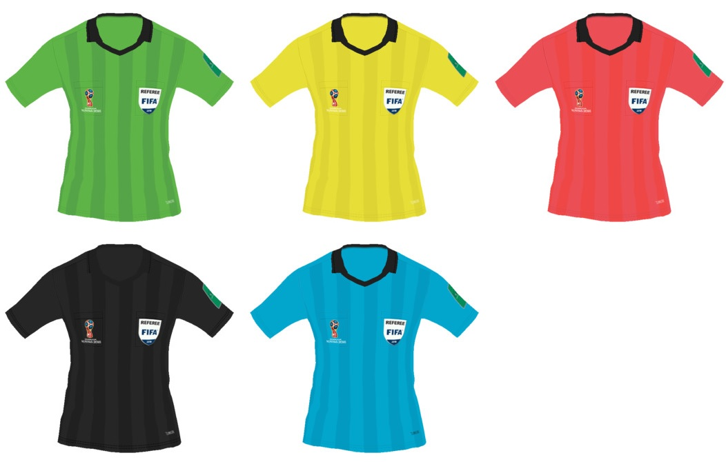 PES 2018 World Cup 2018 Referee Kits by tekask1903