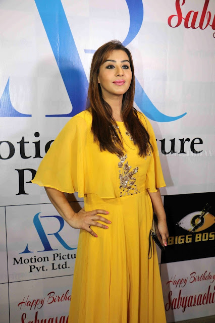 Shilpa Shinde Photo In Yellow Dress