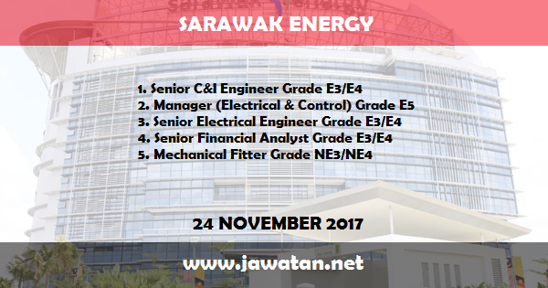 Jawatan Kosong di Sarawak Energy