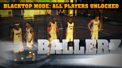 Blacktop All Players Unlocked