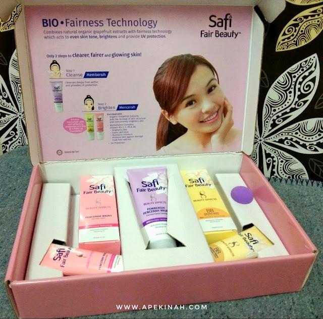 Safi Fair Beauty Menyerlahkan Keyakinan, Kecerahan dan Ceria Dengan Hanya 8 Manfaat