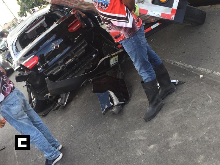 Video: Choque múltiple deja varios heridos en SFM