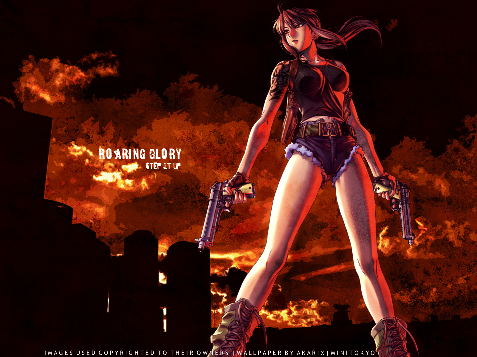 Free Wallpaper For Your Computer And Laptop Black Lagoon Wallpapers