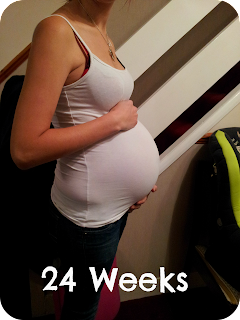 24 weeks pregnant, 24 weeks second pregnancy, bump diary