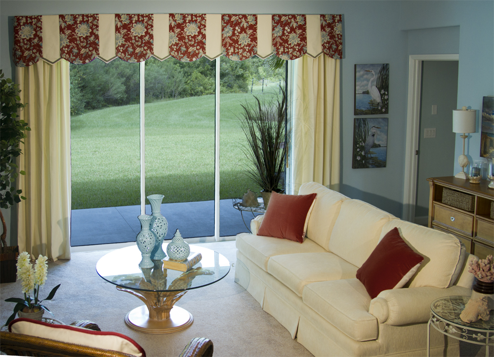Modern Drapes and Valances: How To Dress Sliding Glass Doors