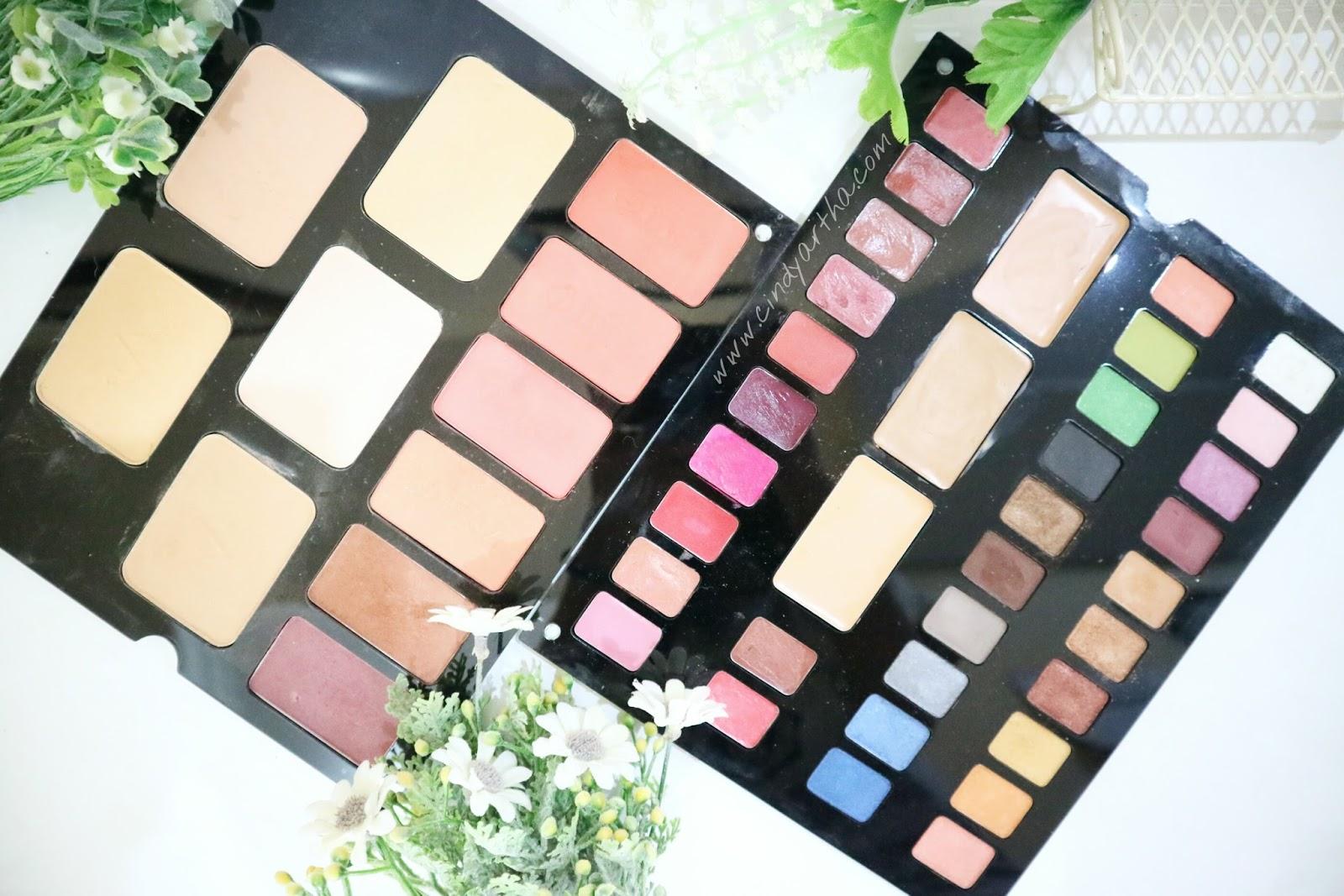 Inez Cosmetics Luxury Pack Beauty Lifestyle Journals Correcting Cream Vivid Pallete Ini Terdiri Dari 10 Lipsticks 2 Lipshines 3 Creams 20 Eyeshadows 6 Blush On Dan 5 Two Way Cake