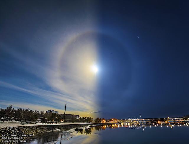 halo solar e halo lunar - Göran Strand
