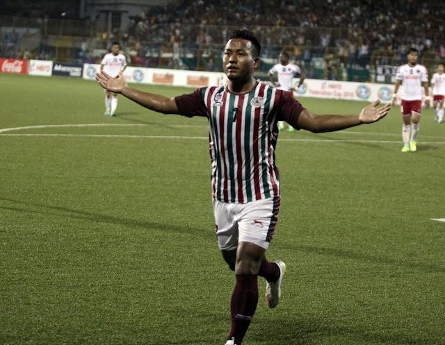 Jeje Lalpekhlua scores a hat-trick in Bagan's 5-0 win