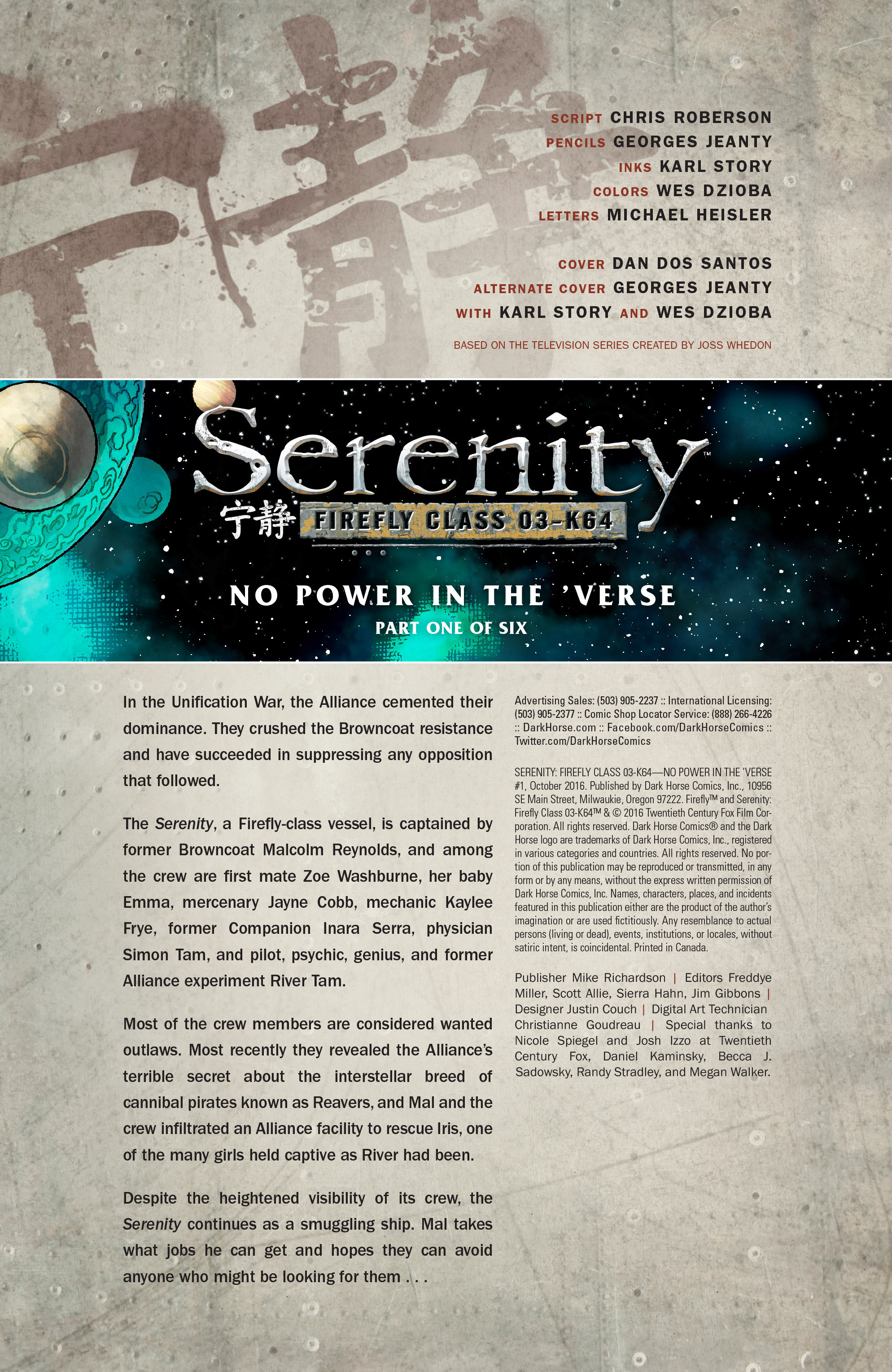 Read online Serenity: Firefly Class 03-K64 – No Power in the 'Verse comic -  Issue #1 - 7