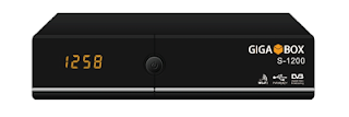 GIGABOX S-1200: PRIMEIRA ATUALIZAÇÃO V1.00 S-1200