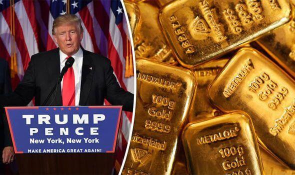Precio del oro Donald Trump