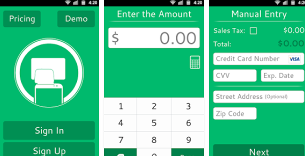 Credit Card Swiper For Android