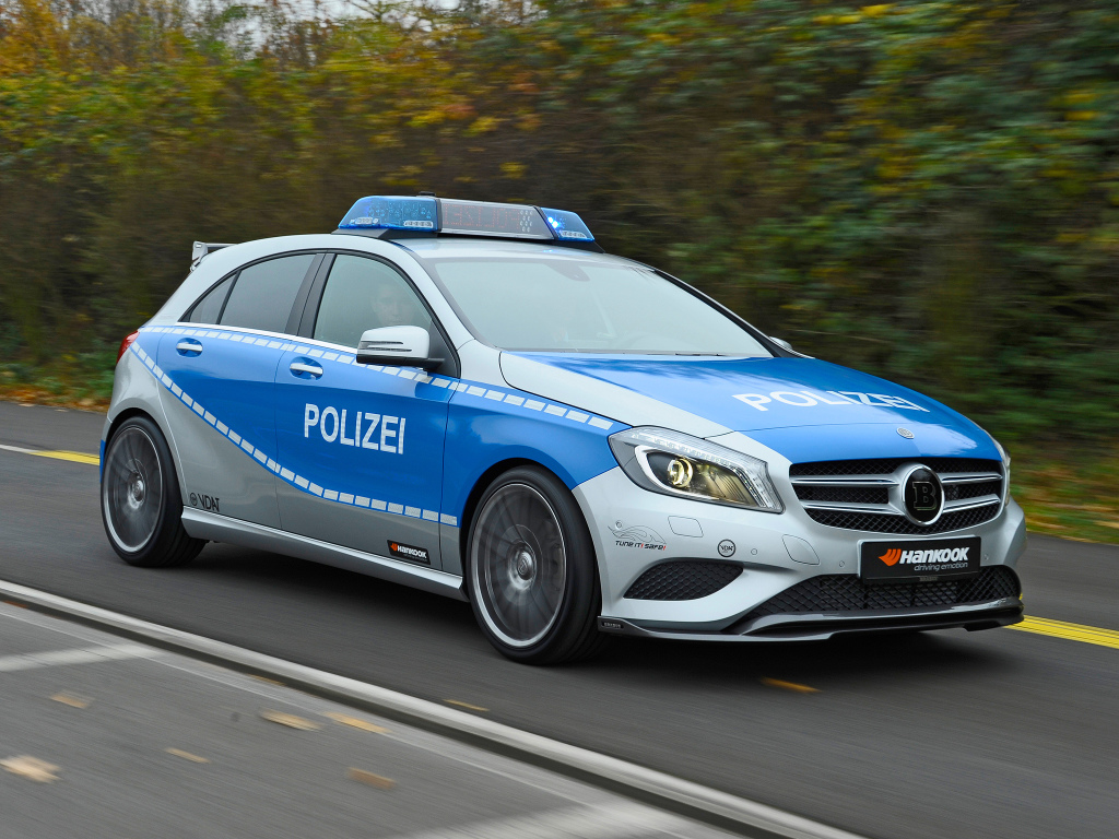 brabus w176 b25 polizei tune it safe concept benztuning. Black Bedroom Furniture Sets. Home Design Ideas