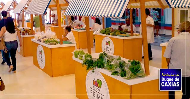 Caxias Shopping promove feira de produtos cultivados sem agrotóxicos dia 17 de março