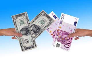 cambio euro dollaro in tembo reale