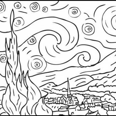 maestra girasole: VINCENT VAN GOGH:opere da stampare e