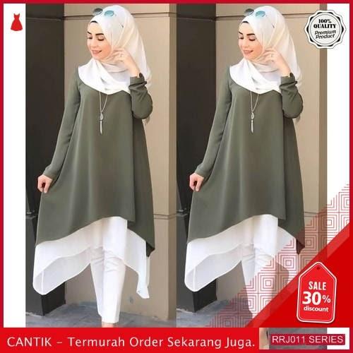 Jual RRJ011A124 Atasan Muslim Wanita Kalita Tunik Sk BMGShop