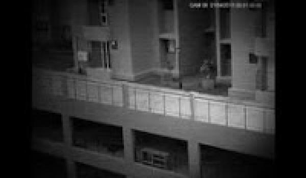 Building CCTV Camera Caught Ghost