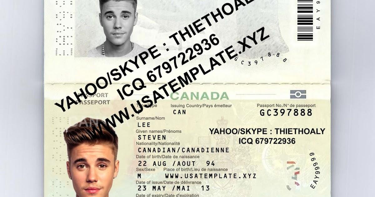 Enchanting Passport Photo Photoshop Template Crest - Professional ...