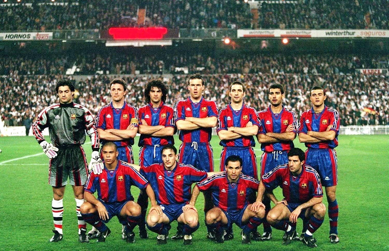 equipos de f tbol barcelona contra real madrid 06 02 1997