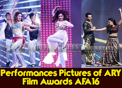 Performances Pictures of ARY Film Awards AFA16 Watch Free
