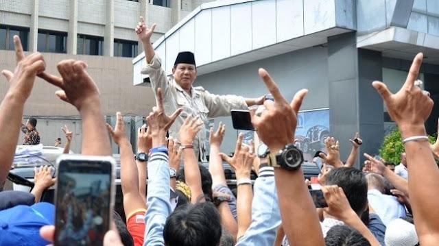 Hasil Litbang Kompas Bukti Masyarakat Tak Lagi Sembunyi-Sembunyi Pilih Prabowo