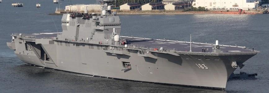 Японія перетворює вертольотоносець Ідзумо на авіаносець