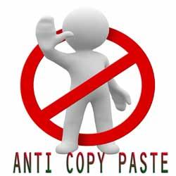 Begini Caranya Agar Tulisan di Blog Tidak Bisa diblok Copy Paste