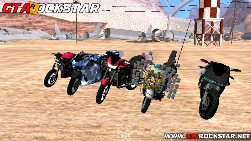 Novo Pack de Motos do GTA V para GTA San Andreas Android