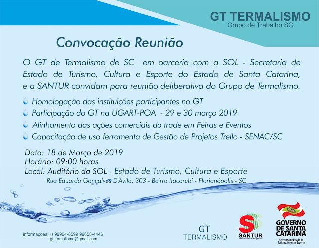 Outro seguimento de destaque no turismo é o termalismo catarinense