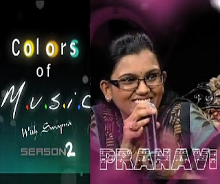 Pranavi in Colors of Music with Swapna