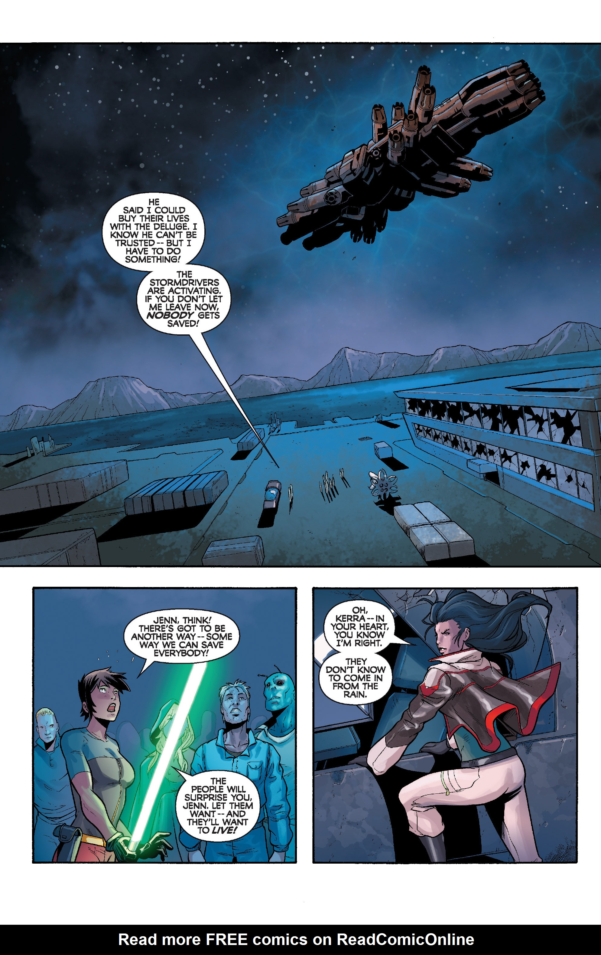 Read online Star Wars: Knight Errant - Deluge comic -  Issue #3 - 23