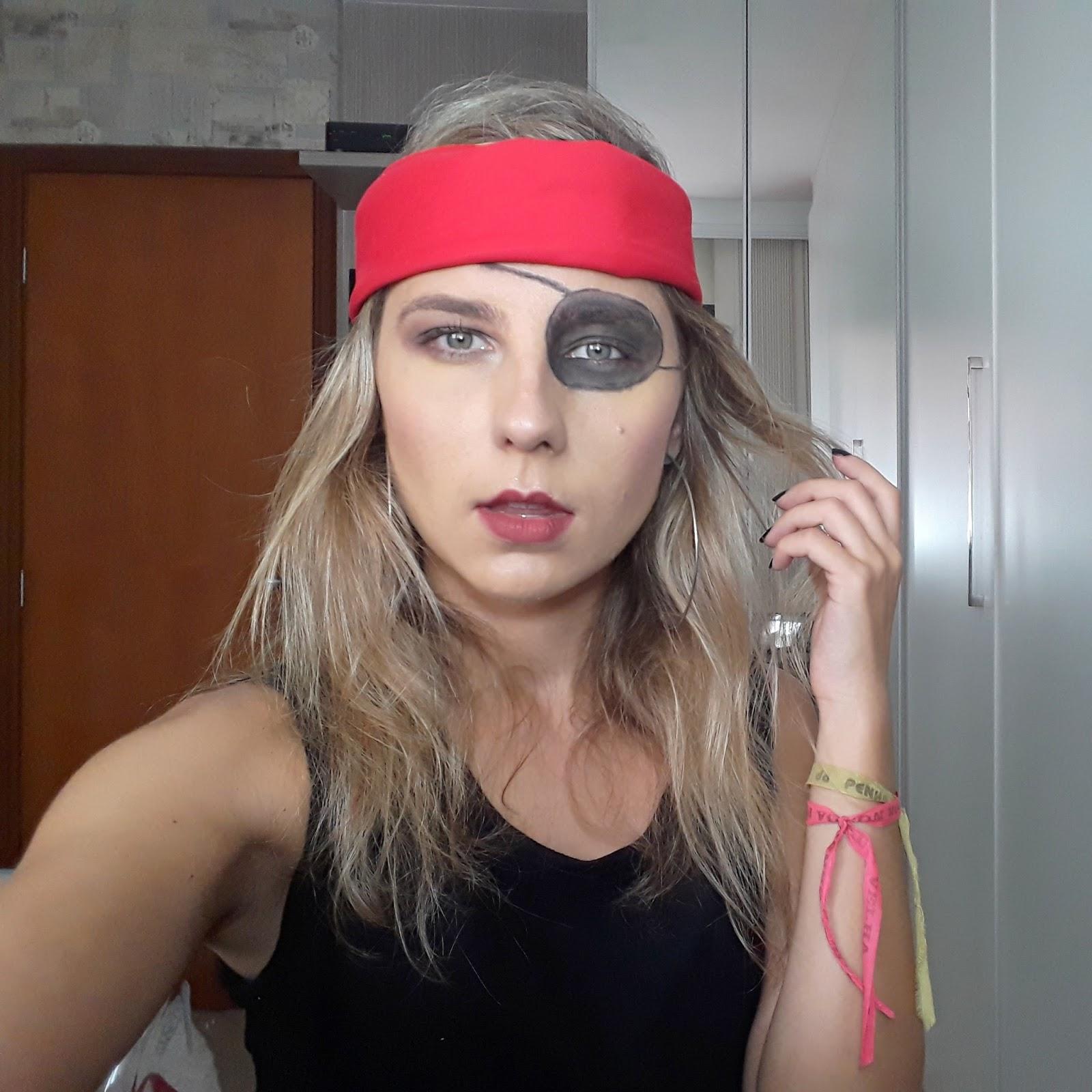Maquiagem Pirata - Carnaval 2018!