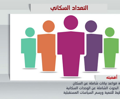 تعبير عن التعداد السكاني