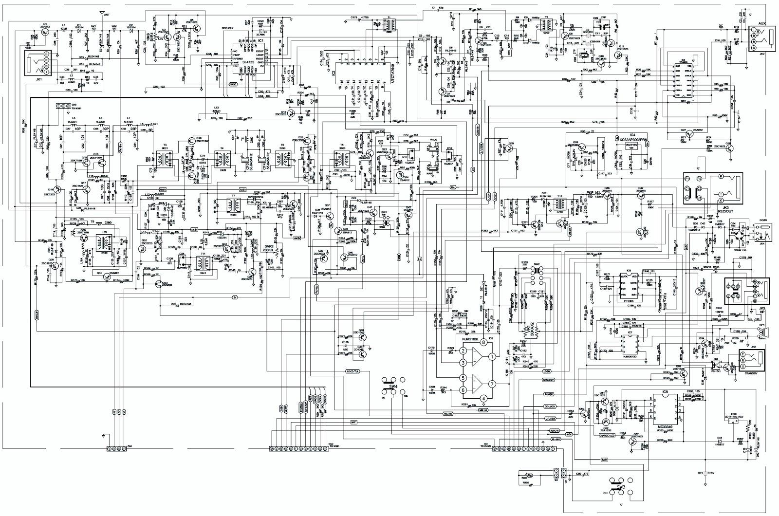 Sangean Ats 909x Fm Mw Lw Sw Pll Synthesized Receiver