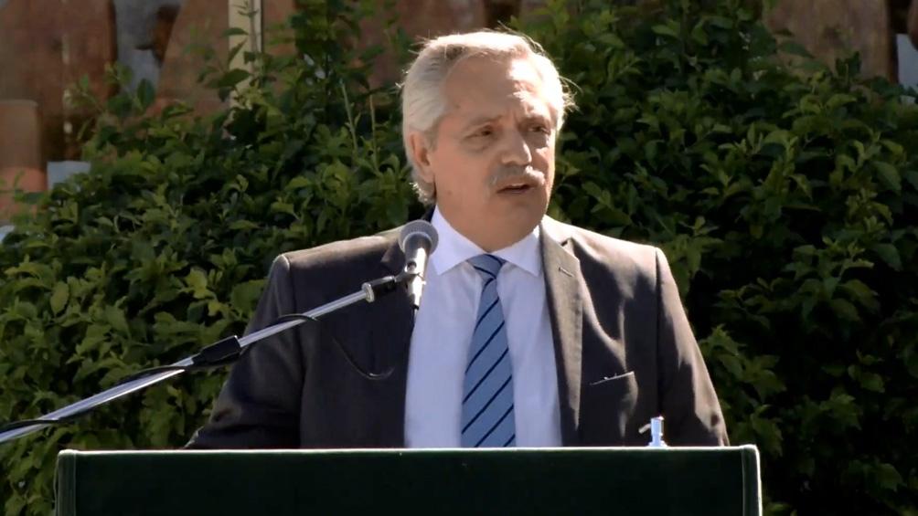 Alberto Fernández en La Matanza: