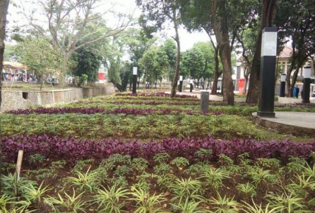 Taman Panjang di Bandung Baru di Resmikan