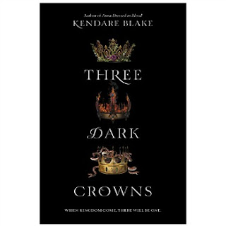 Three Dark Crowns by Kendare Blake synopsis