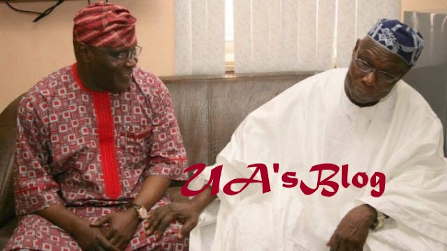 BREAKING: Atiku Visits Obasanjo In Abeokuta