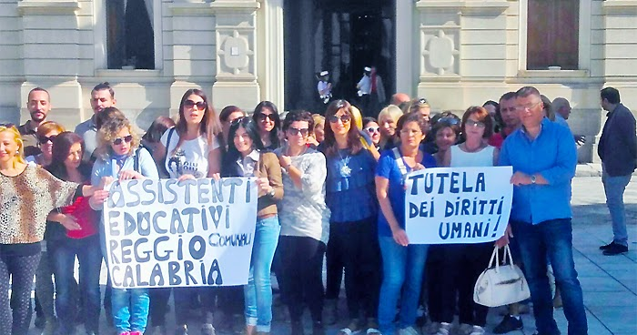 REGGIO CALABRIA. Fronte Nazionale: 'in Città vietato essere disabili'