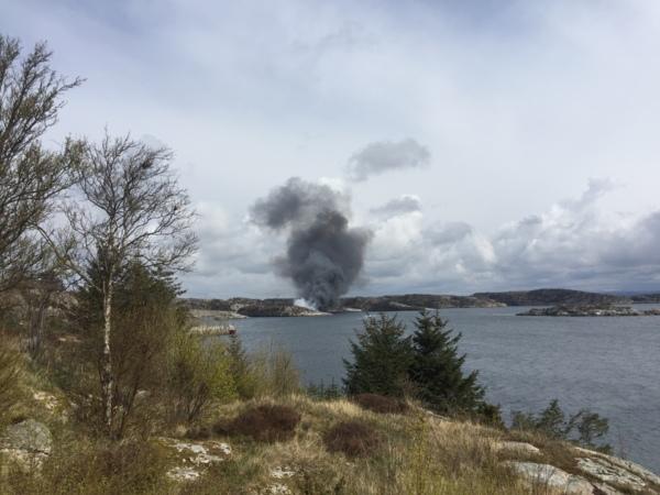 Elicottero 520n : Reportages bergen norvegia precipita elicottero